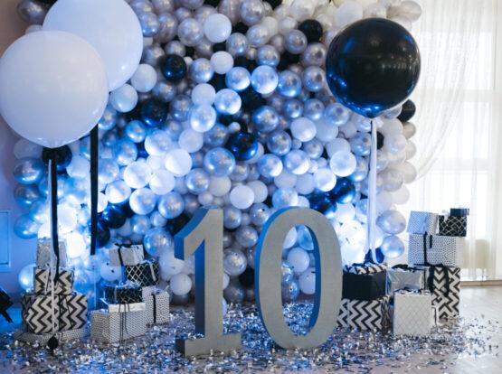 balloon backdrop seattle